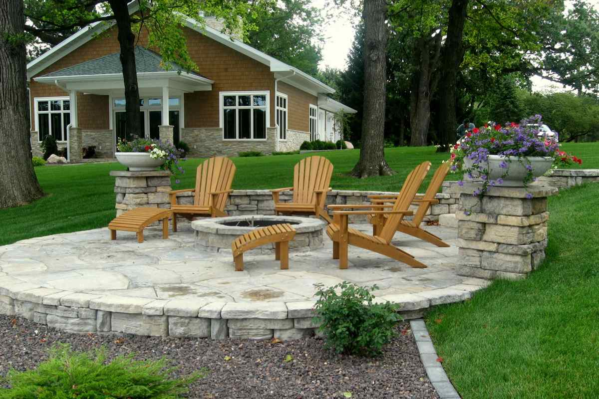 Belvedere fire pits for Landscaping rocks windsor ontario